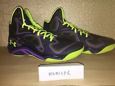 Under Armour Anatomix Spawn promo sample pe Purple/volt Curry 1 2 mvp UAA 11.5