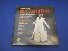 Thea Musgrave Mary Queen Of Scots Ashley Putnam, MMG-301,3 Record Set With Score