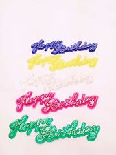 12 Happy Birthday Cake Cupcake Toppers Decorations Layons Party Supplies