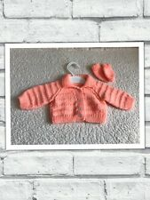 Baby Girls Clothes Newborn- Lovely Hand  Knitted Cardigan -