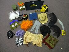 20+ piece Lot FUN Wedding Photo Booth Props Hats Glasses Masks Clothes & MORE A1
