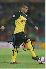 Watford mano firmado Javier Acuna 6x4 Foto 1.