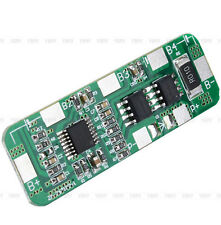 New Cool BMS Protection PCB Board for 4 packs 18650 Li-ion lithium Battery Cell