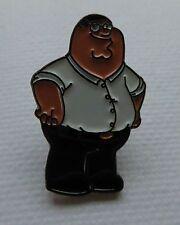 Metal Enamel Pin Badge Brooch Family Guy Peter American Sit Com Character