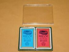 VINTAGE SNACK PAK PLEASANT VALLEY PACKING SCHENECTADY NY PLAYING CARDS UNOPENED