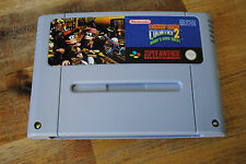Jeu DONKEY KONG COUNTRY 2 - Diddy's Kong Quest pour Super Nintendo SNES PAL