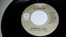 AL MARTINO Melody Of Love / Spanish Eyes CAPITOL 6108 GOLD LABEL 45 7""