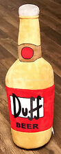 "NEW Universal Studios The Simpsons Duff Beer Bottle Large 32"" Plush"