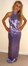 NWT LONG LILAC SHIMMERING 2 PC FORMAL EVENING DRESS 10 BALL PROM GRADUATION