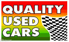 QUALITY USED CARS FLAG 5FT X 3FT