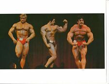 TOM PLATZ/ Mike Mentzer/ Carlos Rodriguez Bodybuilding Muscle Photo Color