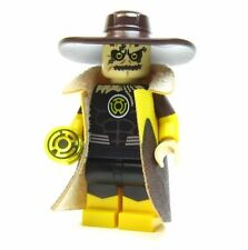 LEGO custom - - - YELLOW LANTERN SCARECROW - - - - batman superman dc