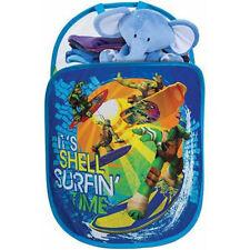 Pop N Play Tote Hamper Hoop Toy Laundry Organizer Teenage Mutant Ninja Turtles
