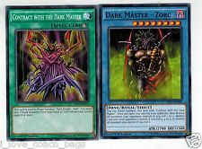 Dark Master Zorc + Contract With the Dark Master  MILI YUGIOH English