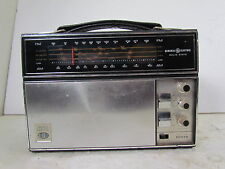 "Vintage General Electric ""World Monitor"" 1985-A AM/FM Portable Radio"