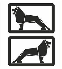 MAN truck lion Graphic/Sticker 395mm x 255mm