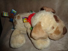 Taggies stuffed plush Buddy Puppy Dog 2008 Mary Mayer Baby signature collection