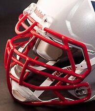 NEW ENGLAND PATRIOTS Riddell Speed S3BDU Football Helmet Facemask (SCARLET)