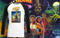 Big Trouble In Little China Retro Movie Mens T Shirt Long Sleeve Top All Sizes