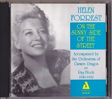 On the Sunny Side of the Street Helen Forrest CD Audiophile Big Band 1949-1950