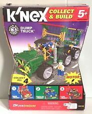 K'Nex Road Rigs Series 3 Dump Truck With Motor 234 Pieces NEW IN BOX 11908/78066