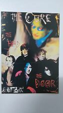 The Cure the head on the door Robert Smith vintage music postcard POST CARD