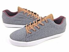 SUPRA MEN'S ASSAULT SKATEBOARDING SHOES,GREY/BROWN/WHITE WOOL, US SIZE 11,NEW