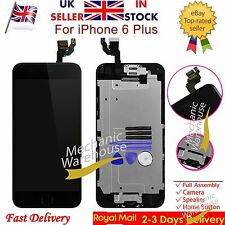 Replacement For iPhone 6 Plus Digitizer LCD Touch Screen & Home Button Camera UK