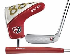 "WILSON STAFF 8802 MILLED PUTTER 35"" RIGHT HAND & HEAD COVER - NEW"