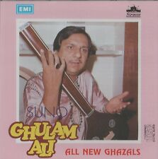 GHULAM ALI - SUNO GHULAM ALI ALL NEW GHAZALS - BRAND NEW ORIGINAL CD