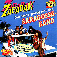 CD - SARAGOSSA BAND - ZABADAK (DISCO MIX) GERMANY EDIT.1991,MINT SEALED, LISTEN