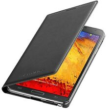 Original Samsung Flip Cover Case EF-WN900 Schwarz Galaxy Note 3 III N9005 N9006