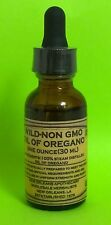 Oil of Oregano 1 oz.(WILD-NON-GMO)High Carvacrol rating 85%-Highest Quality