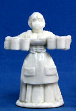 1 x VILLAGEOIS SERVANTE - BONES REAPER figurine miniature jdr d&d rpg wench