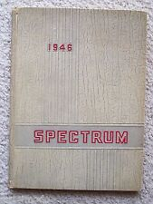 1946 PARMA HIGH SCHOOL YEAR BOOK, PARMA, OHIO    SPECTRUM