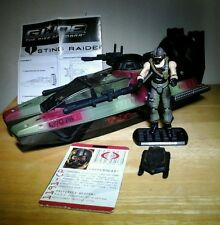 GI JOE RISE OF COBRA ROC TRU TOYS R US STING RAIDER VEHICLE W/ COPPERHEAD PILOT