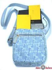 Fendi Messenger Tasche Jeans/Leder Modell: 8BT098 neu!