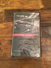 2014 Dodge Charger Srt Owners Manual Sealed