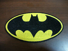 NEW BATMAN LOGO IRON ON PATCH