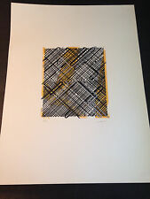 """Ed Moses """"Shago 1"""" Original Lithograph, Hand Signed & Numbered, Limited Edition"""