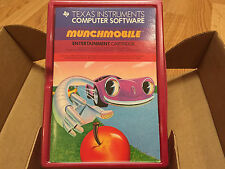 MUNCHMOBILE  (Munch Mobile)  Texas Instruments TI 99/4a Computer NEW CASE FRESH