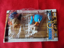 "NEW! ONE PIECE VIVI & CARUE Mascot Figures 1.5"" MANGA UK Despatch"