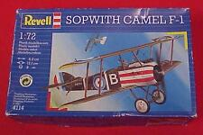 REVELL 1:72 Sopwith Camel F-1 ~ Unassembled Kit # 4114 ~ Made in Germany in 1992