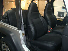 JEEP WRANGLER TJ SAHARA 1997-2002 LEATHER-LIKE CUSTOM SEAT COVER