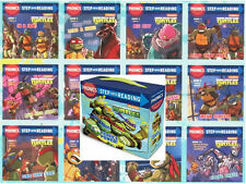 Step into Reading Phonics Readers Teenage Mutant Ninja Turtles  12 Book Box Set