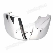 2pcs Motorcycle Chrome Side Cover For Honda VTX1800 2002 2003 2004 2005 06 07 08