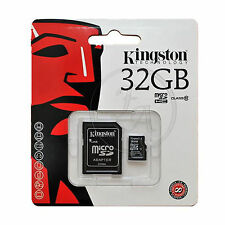 32 Gb Kingston Micro Sd Sdhc Tarjeta De Memoria Para Sony Xperia Z1