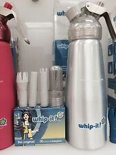 Whip it rubber cream dispenser whipper 250 ml Free Ship 10 free chargers n2o
