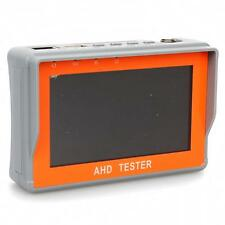 "Portable 4.3"" LCD CCTV Camera Display AHD Monitor Tester Build-in Battery 12V"