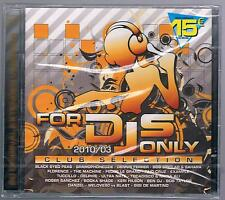 FOR DJS dj's ONLY  2010/03 CLUB SELECTION - 2 CD F.C. SIGILLATO!!!